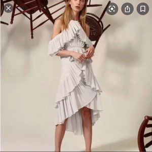 Acler Pleat Cocktail Dress